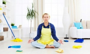 spring cleaning meditation